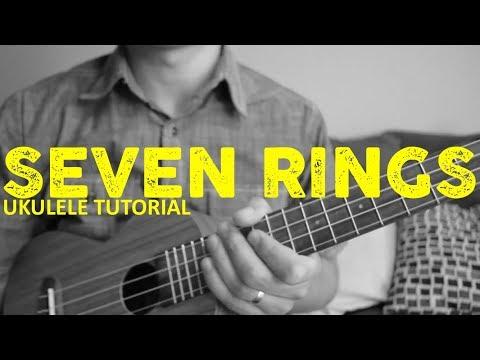 7 Rings - Ariana Grande (EASY Ukulele Tutorial) - Chords