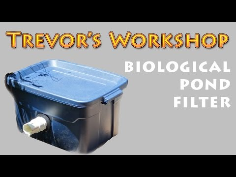 Homemade Biological Pond Filter