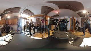 The Hu Mongolian metal band rehearses in Ulaan Baatar. 360 video.
