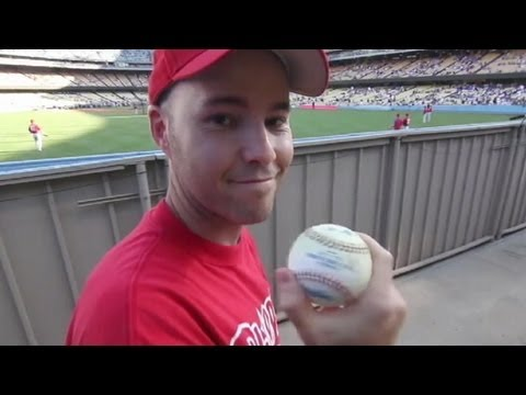 How to Catch a Ball From the Stands at a Baseball Game