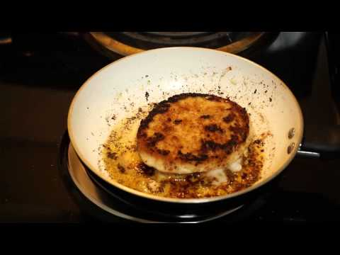 Cooking:  Costco turkey burger