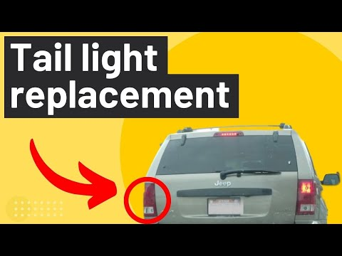 Jeep Cherokee Replace Burnt Out Tail Light (Brake, Blinker, Reverse)