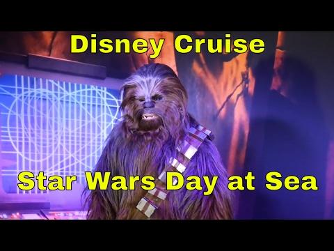 Disney Fantasy Cruise - Star Wars Day at Sea - FIREWORK SHOW