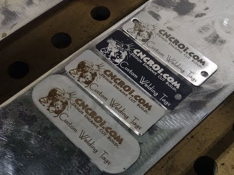 Metal Welding Tags: Standard & Custom to Your Spec