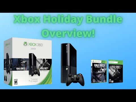 Xbox 360 500GB Holiday Bundle Unboxing (2014)
