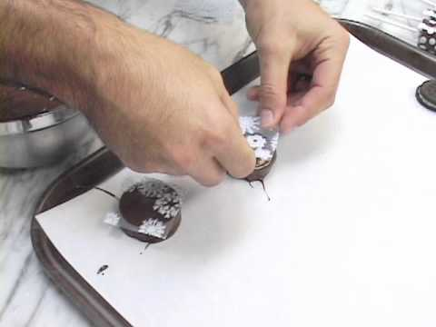 Chocolate Transfer Sheet Tutorial - Dipped Confections