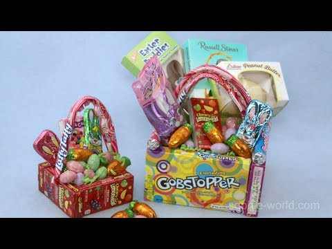 How to Make an Edible Easter Basket | Sophie's World