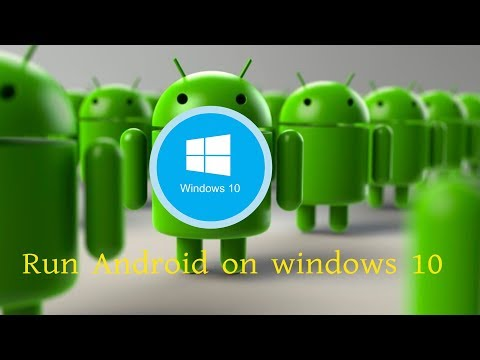 How to make android apps work on windows xp -