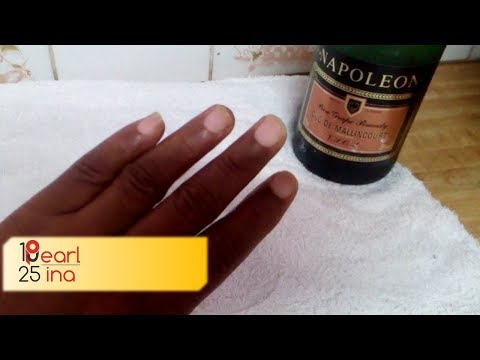 How To Remove Yellow (Turmeric, Curry) Stains From Under 👏🏾Finger nails