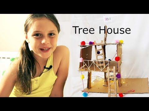 Tree House Out of Cardboard