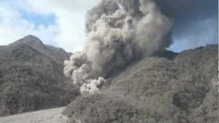 Paluweh Volcano Made Pyroclastic Flow into the Sea