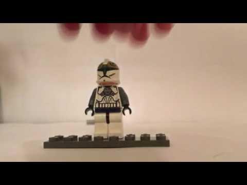 Lego Star wars clone gunner conperson