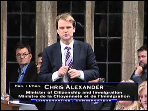 Minister Alexander Annouces Long-Term Multiple-Entry Visas for Canadian Travellers to China