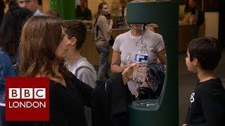 London's rubbish problem: Plastic bottles – BBC London News