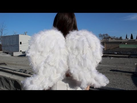 DIY| Cupid Feathered Wings