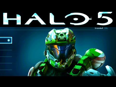Halo 5 BETA Unlocks DAY 2 - Frost Visor, Recruit BRN Helmet