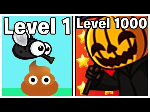 ANIMAL EVOLUTION AFTER DEATH! (NEW MAX LEVEL) FlyOrDie.io