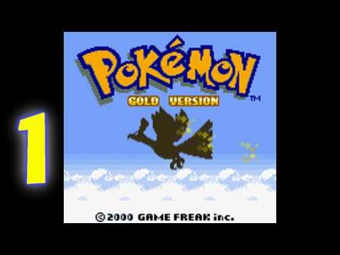Let's Play Pokemon Gold Part 1 - Blastoise = Lapras?
