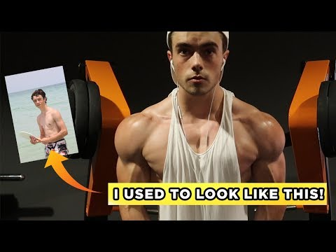 How I Gained 15+ Pounds of Muscle - Full Day of Eating for Gaining MASS