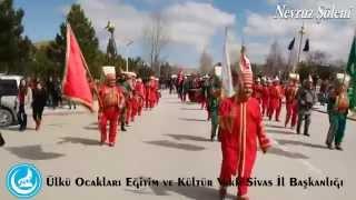 Sivas Ülkü Ocakları Nevruz Şöleni Düzenledi..