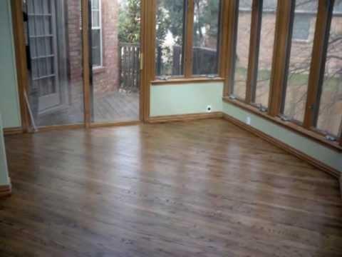 Custom Finish & Refinish Hardwood Floors