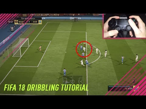 FIFA 18 THE BEST SKILL MOVE TO USE IN SMALL SPACES - THE 360° DRAGBACK TUTORIAL