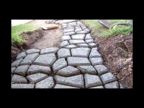 Penson & Co Concrete Cobble Stepping Stone Mold