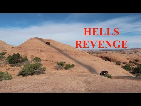Hells Revenge with Jeeps Hummers and 4Runners - Scenic HWY 128 to MOAB - S2E53