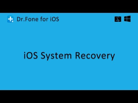 Dr.Fone - iOS System Recovery