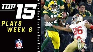 Top 15 Plays of Week 6 | NFL 2018 Highlights