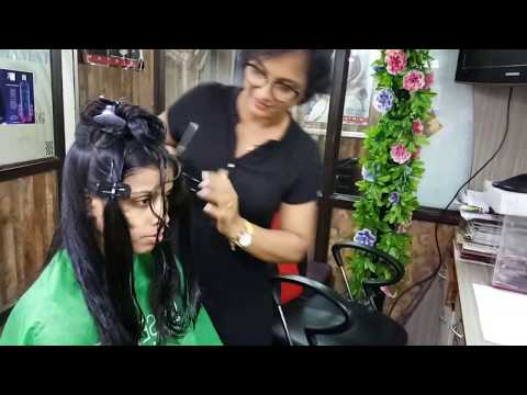 Easy Way To Do Layers Cut on Thick And Long Hair.
