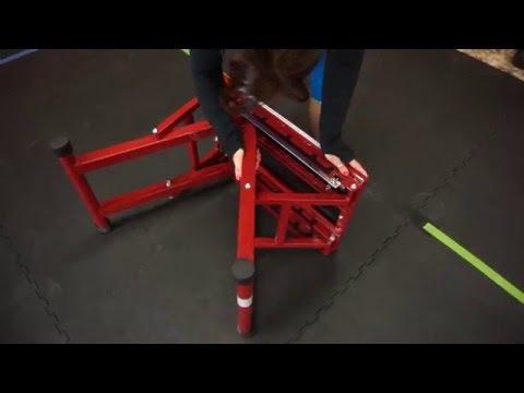 How to Adjust Titan Fitness X Adjustable Height Step Plyo Box