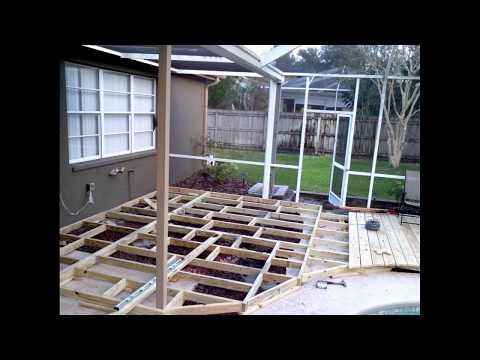 Ideas On How To Build a Custom Wood Deck:  Around Your In-Ground Swimming Pool