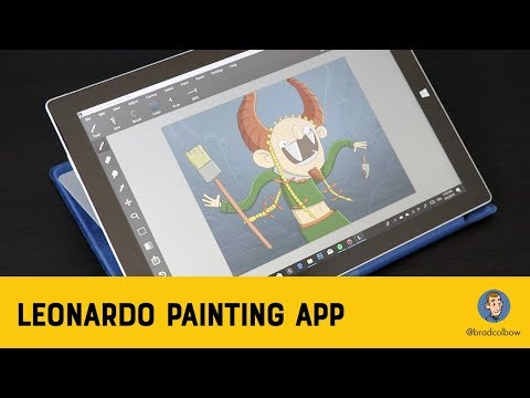 Testing the Leonardo Drawing App for Windows