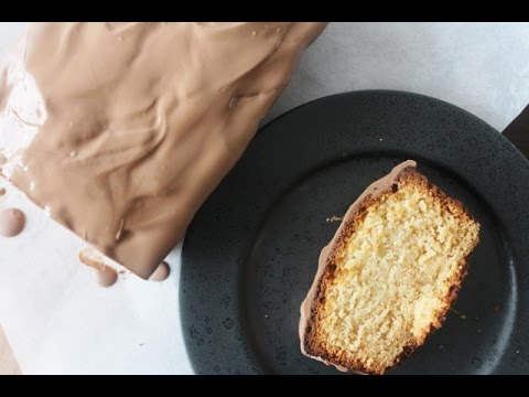 How To Make Vanilla Marzipan Loaf Cake - By One Kitchen Episode 442