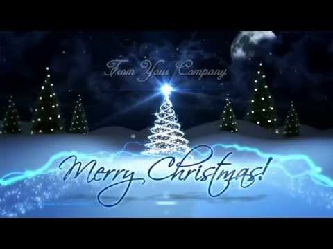 Create MAGICAL Business Christmas Holiday Greetings with Low Cost Video Templates