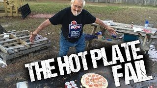 THE HOT PLATE CHALLENGE FAIL!!!