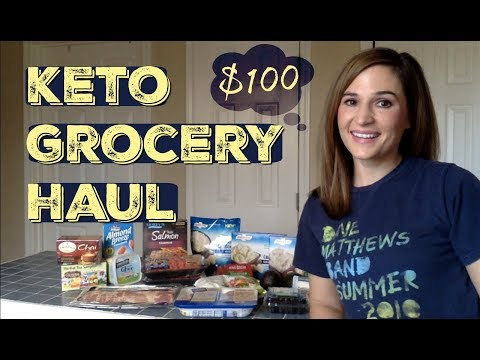 $100 Keto Grocery Haul | Easy High Fat and Low Carb Meal Ideas