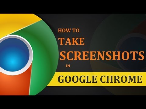 How To Take Screenshots in Google Chrome Browser?