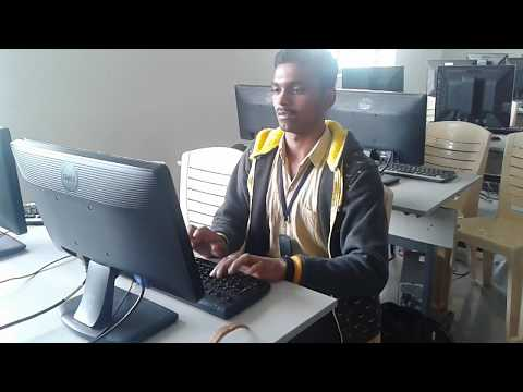 How to increase typing speed (observe my fingers) Net Speed 71 by Suresh dhage.