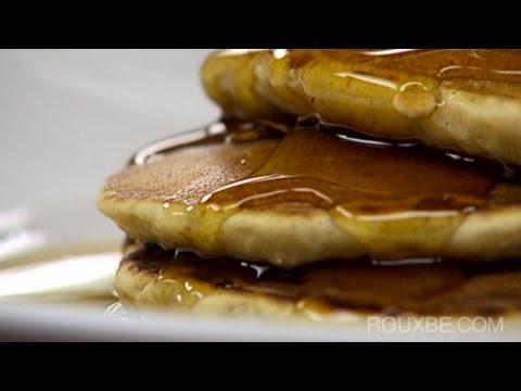 How to make Cinnamon Oatmeal Raisin Pancakes
