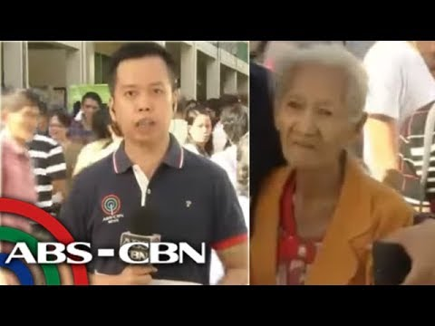#Halalan2018: Voters, including 82-year-old grandma, cast vote early in Antipolo City school