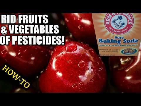 HOW TO USE BAKING SODA TO REMOVE PESTICIDES FROM FRUITS AND VEGETABLES | DIY HOME REMEDIES