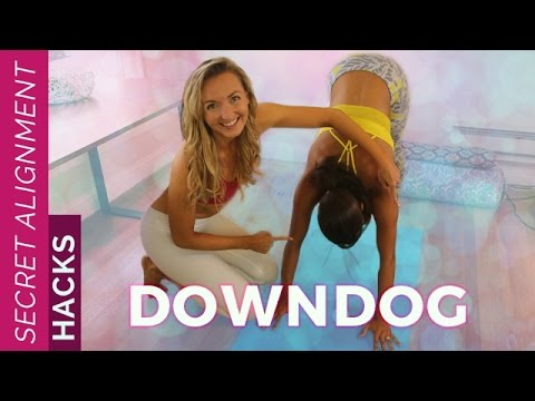 Secret Alignment Hacks: Down Dog | Downward Facing Dog For Beginners - Yoga Pose