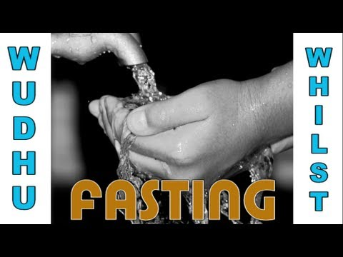 Q&A: How to perform wudhu whilst fasting?