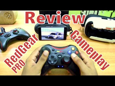 Red Gear PRO Gamepad Review & Gameplay