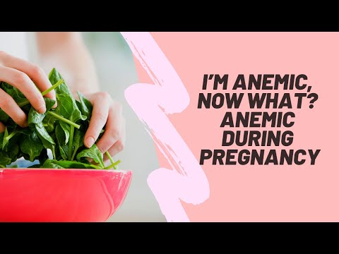 I'm Anemic Now What?! Anemic During Pregnancy | Natural Supplements