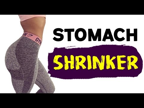 💜 How To Get A Flat Stomach Fast 🏁| 4 SUPER Exercises For A Flat Stomach!