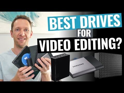 Best External Hard Drives and SSDs for Video Editing