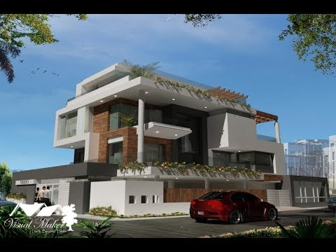 100+ Best House Exterior Designs - 2017   Home Elevations   Residential Design   www.visualmaker.in